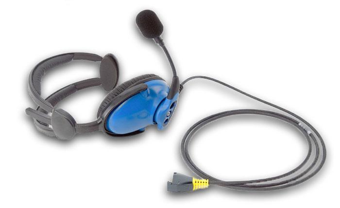 Mic boom headset