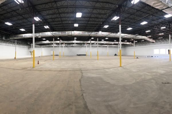 panorama of inside of building